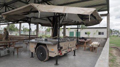 En La Matanza el Ejercito distribuirá alimentos calientes en los barrios más carenciados.
