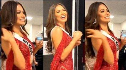 Quién es Ivis Lenin, el diseñador michoacano del despampanante vestido rojo de Andrea Meza