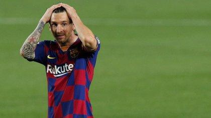 Messi atraviesa días clave en su futuro futbolístico - REUTERS / Albert Gea