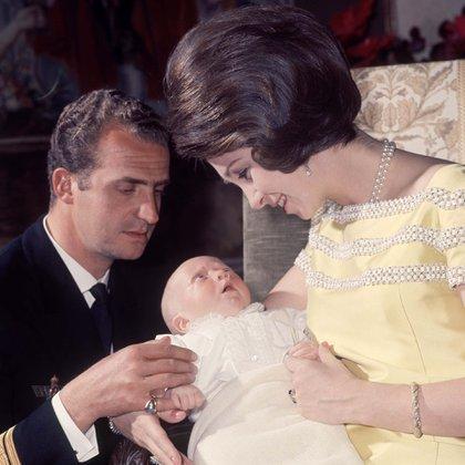 El nacimiento, en 1968, de Felipe, quien sería rey de España a partir de 2014, cuando Juan Carlos decidió abdicar en favor suyo (Shutterstock)