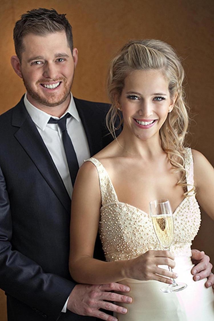 La boda de Lopilato y Bublé