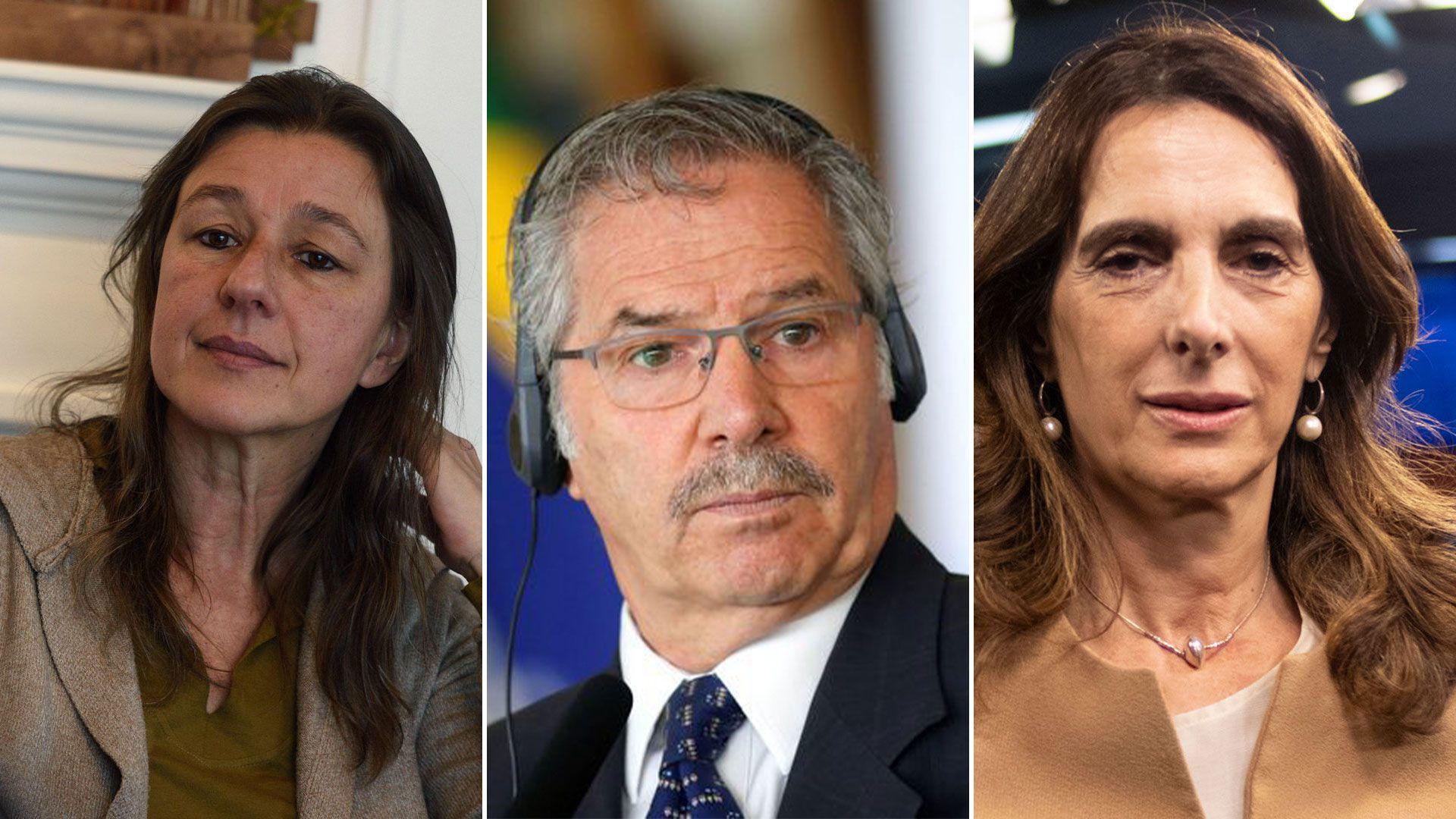 Gabinete Nacional - Sabina Frederic, Felipe Sola y Maria Eugenia Bielsa