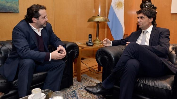 Hernán Lacunza y Marco Lavagna