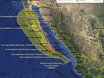 Hasta anoche se esperaba que se moviera paralelo a la costa o sobre tierra en la península (Foto: Especial)