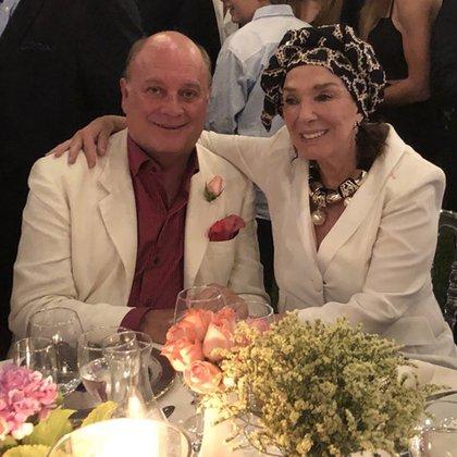 El empresario Martín Cabrales y la actriz Graciela Borges