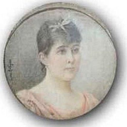 Clara Funes, la esposa de Roca, la madre de sus seis hijos, quien murió joven.