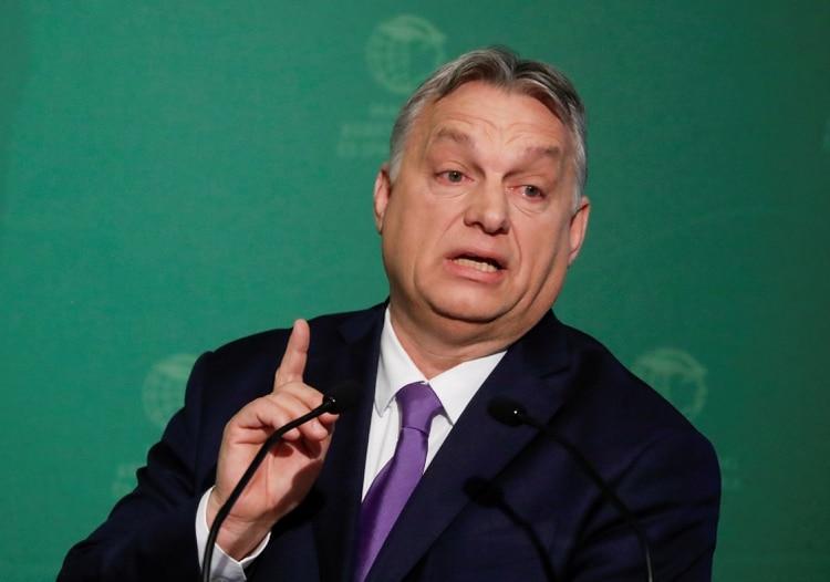 Victor Orban. REUTERS/Bernadett Szabo