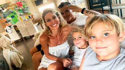 Jimena Cyrulnik invitó a su ex marido, Lucas Kirby, a pasar la cuarentena junto a sus hijos Calder y Tyron