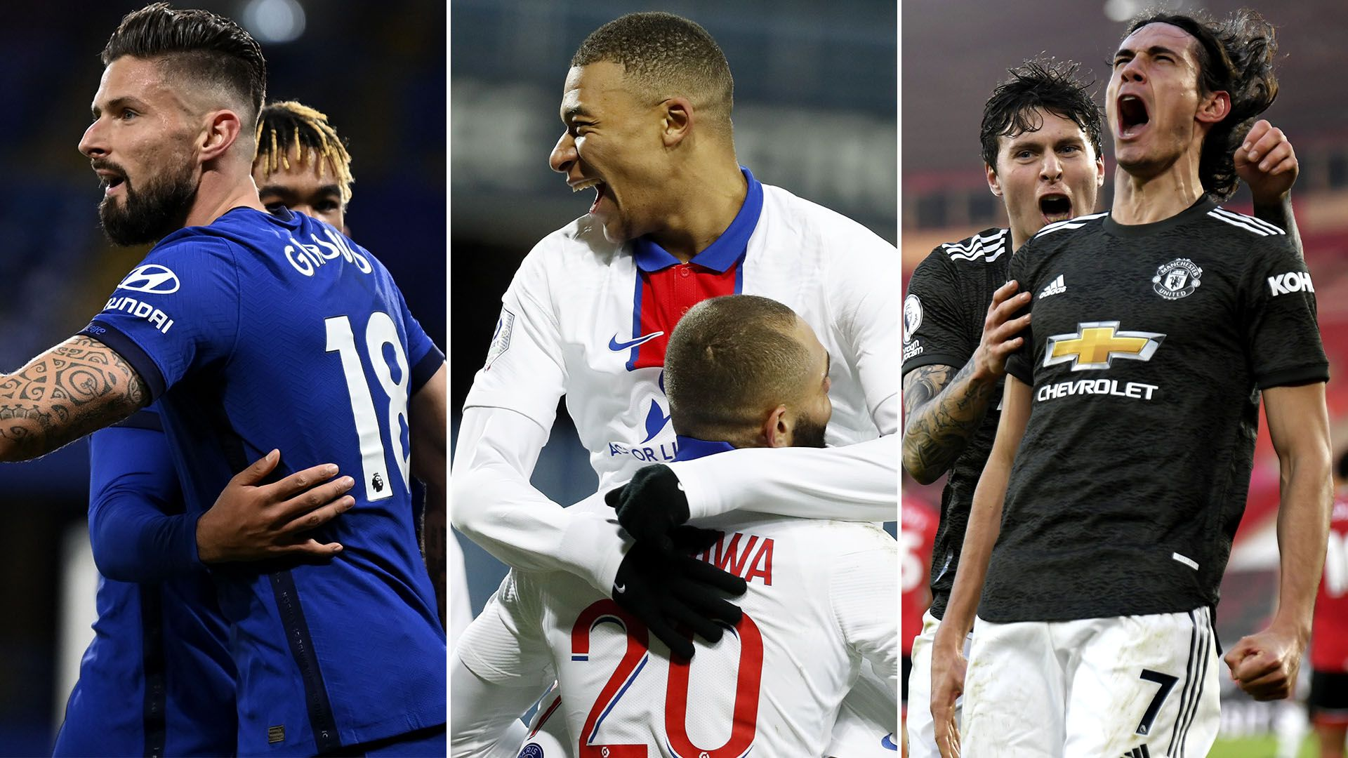 previa Chelsea PSG y Manchester United
