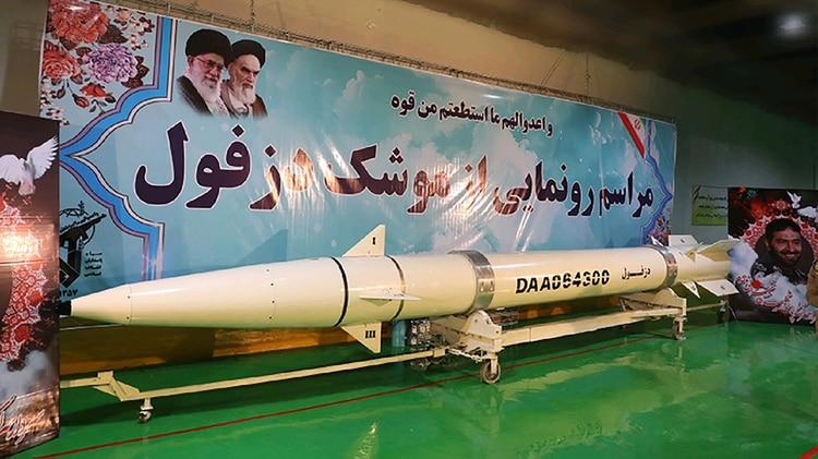 Irán se considera a sí misma una potencia misilística, sólo superada por Estados Unidos, Rusia y China (AFP)