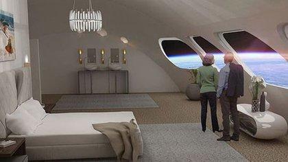 El hotel tendrá todas las comodidades de un crucero, pero con una vista increíble, aseguran sus futuros constructores (Gateway Foundation)