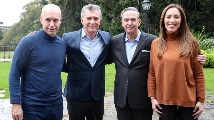 Macri, Rodríguez Larreta, Vidal y Pichetto almorzaron en Olivos cuando ya había terminado la campaña electoral rumbo a las PASO