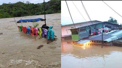 15 municipios del Chocó se vieron afectados por las lluvias del fin de semana del 14 de noviembre.