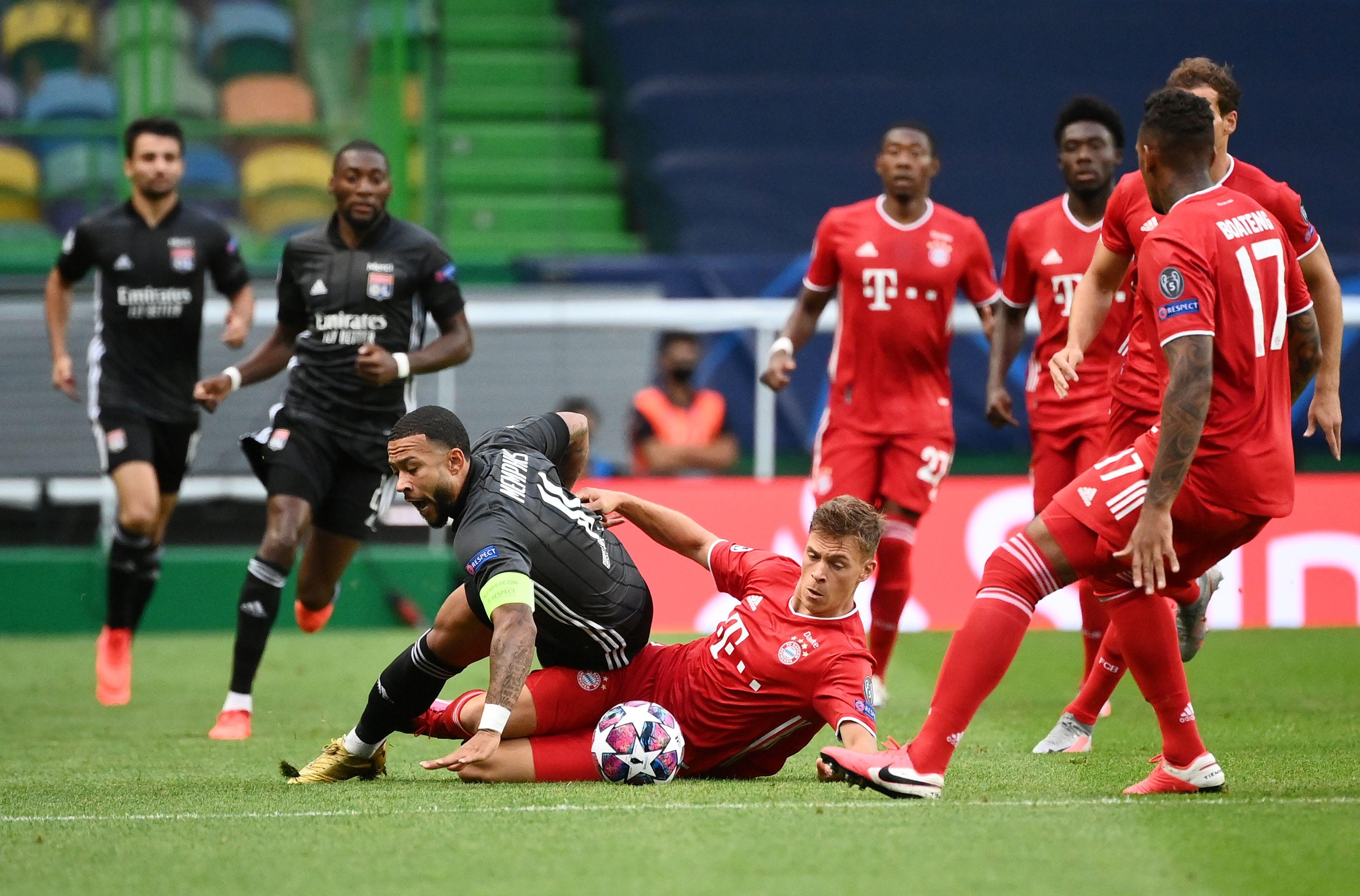 El Bayern Múnich superó al Lyon 3-0 en la semifinal de la Champions League (Reuters)