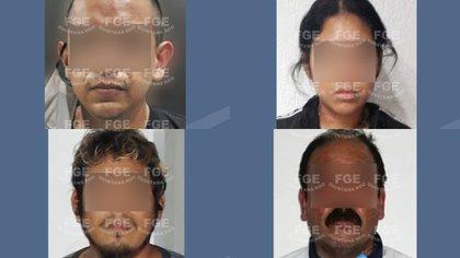 Una persona fue recuperada y cinco secuestradores fueron aprehendidos en Quintana Roo (Foto: Twiter @FGEQuintanaRoo)