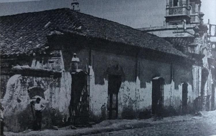 La vieja aduana de Buenos Aires, donde el padre de Manuel Belgrano era funcionario.