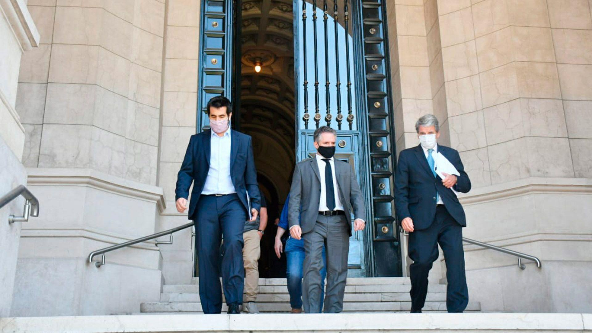 abogados ciudad de buenos aires reunion CABA gobierno coparticipacion corte suprema