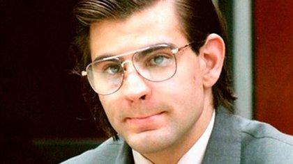 """""""El Concheto"""", durante el juicio en el que fue condenado por tres de los cuatro homicidios que cometió. El último lo perpetró en la cárcel"""