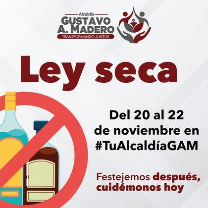 Alcaldías suspenderán la venta de bebidas alcohólicas (Foto: Twitter / @TuAlcaldiaGAM)