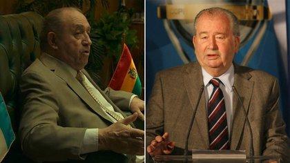 """Luis Margani interpreta a Julio Grondona en la serie """"El Presidente"""""""