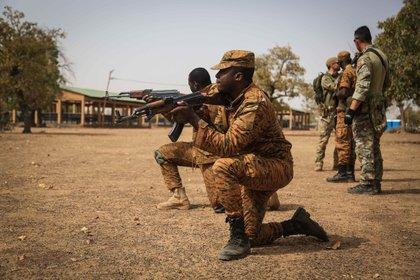 Militares de Burkina Faso (POLITICA AFRICA BURKINA FASO INTERNACIONAL/ PETER SEIDLER / ZUMA PRESS / CONTACTOPHOTO)