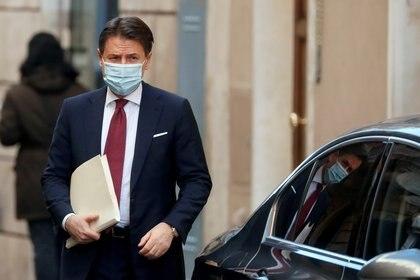 El primer ministro italiano Giuseppe Conte (REUTERS/Yara Nardi/archivo)