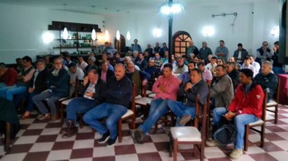 Importante asistencia de productores a  la Asamblea realizada hoy en la provincia de Tucumán.
