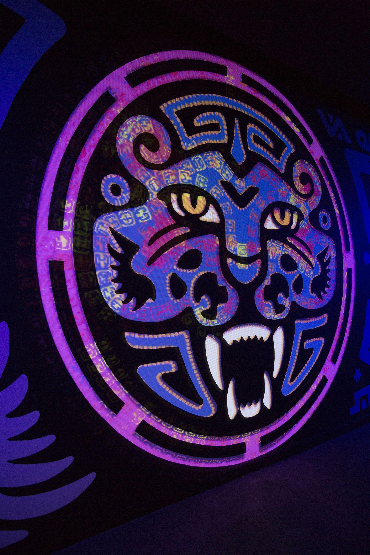 """""""La serpiente y el jagiar"""", una experencia de realidad aumentada en el Centro Cultural Recoleta"""