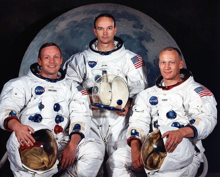 Armstrong, Collins y Aldrin hicieron historia y marcaron un hito humano (NASA)
