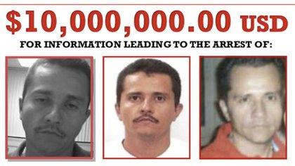 """Nemesio Oseguera """"El Mencho"""", es hoy el narcotraficante más buscado por EEUU."""