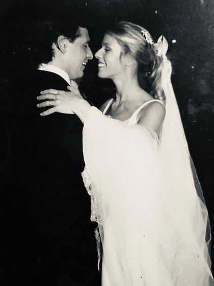 Ponce de León y Lacalle Pou complieron 20 años de casados en junio pasado