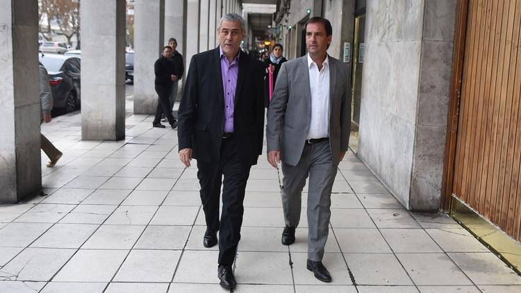 Jorge Ferraresi y Ariel Sujarchuk