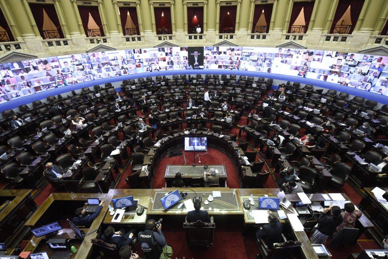 La Asamblea Legislativa se haría en la Cámara de Diputados, aunque con un aforo limitado