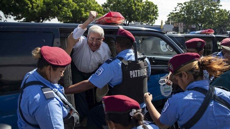 El régimen de Ortega reprime las manifestaciones en su contra (EFE)