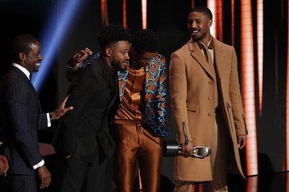 Jordan le agradeció a Boseman por sus interpretaciones (Foto: REUTERS/Mario Anzuoni)