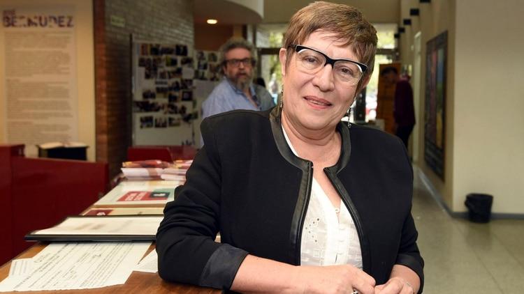 María Teresa Andruetto, estará a cargo del cierre del Congreso de la Lengua (Télam/Alfredo Ponce)