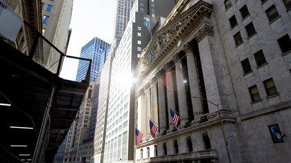 Vista de la Bolsa de Nueva York, en Nueva York (EE.UU.). EFE/EPA/JUSTIN LANE