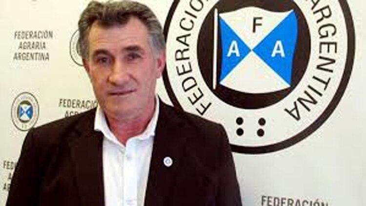 Carlos Achetoni, presidente de la Federación Agraria Argentina, no descartó que se inicie un paro agropecuario si el gobierno aumenta las retenciones