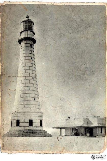 Punta Mogotes en 1902 (Foto: Archivo General de la Nación)