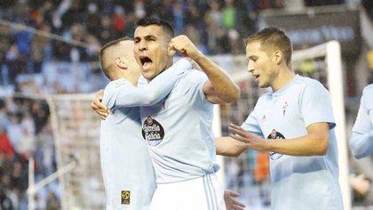Junior Alonso, posible refuerzo de Boca (RC Celta)