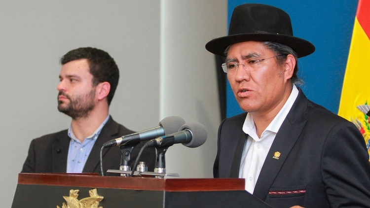 El canciller boliviano Diego Pary (EFE)