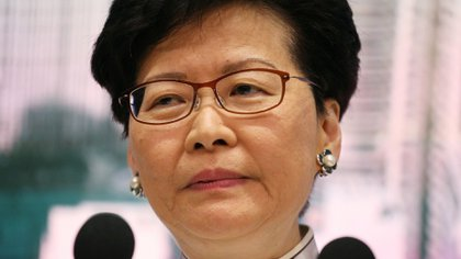 Carrie Lam. (REUTERS/Athit Perawongmetha)