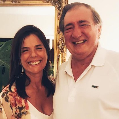 Javier and Sara, the second photo that Facundo Arana shared of his doctor
