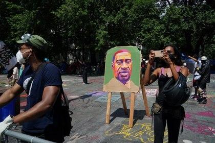 El asesinato de George Floyd se convirtió en un símbolo de la lucha contra el racismo REUTERS/Carlo Allegri