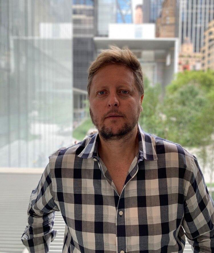 Mariano Ortiz es hincha de San Lorenzo y trabaja en el prestigioso estudio Gensler