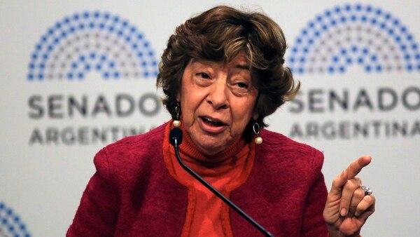 Mabel Bianco, titular de FEIM (foto: NA)