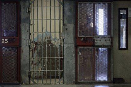 Un interno en la prisión estatal de Corcoran, en California (Reuters)