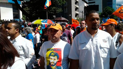 Rada era dirigente de Voluntad Popular y concejal del Municipio Sucre