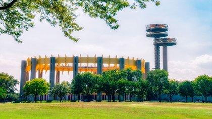 Diseñado como un anfiteatro y espacio de exhibición, el Pabellón del Estado de Nueva York fue el más grande y alto de la feria (Shutterstock)