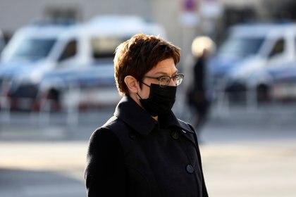 La ministre allemande de la Défense, Annegret Kramp-Karrenbauer